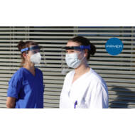 Arcvédő pajzs, plexi maszk PAYER PROTECT EN166