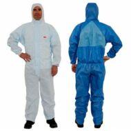 3M™ 4532+ védőoverál kék+fehér, XL-es méret