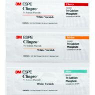 3M™ Clinpro™ White Varnish fogászati lakk 10x0,5ml választható ízben