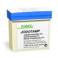 Jodotamp 1cm/5m Roeko - vérzéscsillapító gézcsík