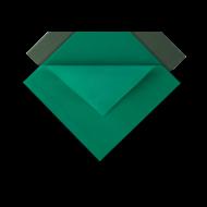 Kofferdam gumi zöld Euronda