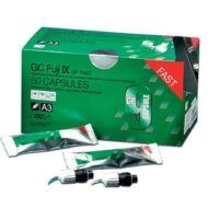 GC Fuji IX GP FAST, gyors kötésű kapszulás (50db) üvegionomer, választható színben