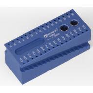 Medesy 6160/B kék endodontiai bemérő 100 x 40 x 40 mm