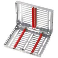 Medesy 980 műszer sterilizáló tálca 10 instrumentnek, választható színben, Gammafix