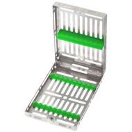 Medesy 980 műszer sterilizáló tálca 9 instrumentnek, választható színben, Gammafix