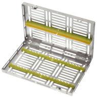 Medesy 981 műszer sterilizáló tálca 20 instrumentnek, választható színben, Gammafix