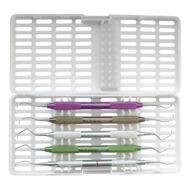 Medesy 979 műanyag tároló fogászati kéziműszerekhez, választható színben