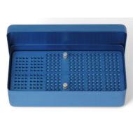 Medesy 986 ENDOBOX 204x105x54mm alumínium kék
