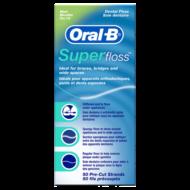 Oral-B superfloss fogselyem 50szál