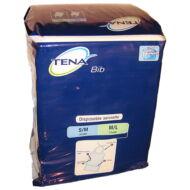 Meprotec TENA zsebes páciens előke / nyálkendő kék, 37x48 cm 150db