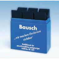 Bausch artikulációs papír kék 200
