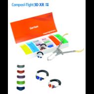 Garrison Composi-Tight 3D XR fogászati szeparáló gyűrűk: Soft Face 3DXR gyűrű (kék), 2 db