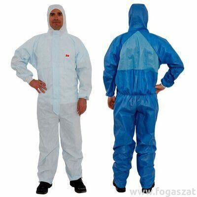 3M™ 4532+ védőoverál kék+fehér, XXL-es méret