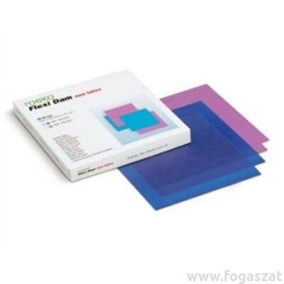 FlexiDam latexmentes kofferdam gumi 6*6 cm kék 30db
