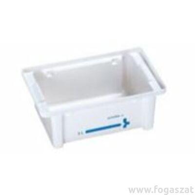 Schülke kád 10 liter átlátszó tetős