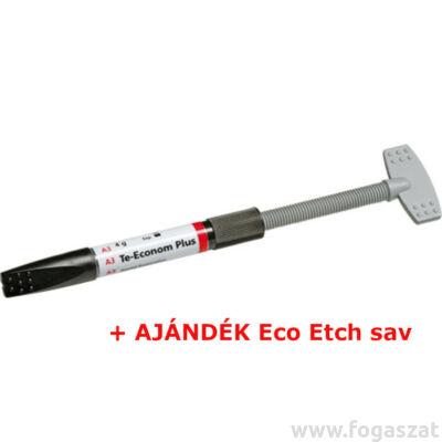 Te-Econom Plus A3, 4g + AJÁNDÉK Eco Etch 37% sav 2g Vivadent