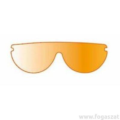 Vista tec védőszemüveg narancs 3db plexi