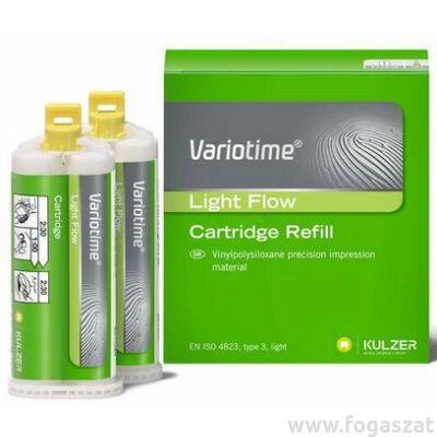 VARIOTIME korrekciós lenyomatanyag 2x50ml ( light flow )
