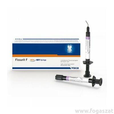 FISSURIT F 2x2g fluoridos fényre kötő barázdazáró fecskendőben VOCO