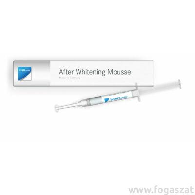 White Smile fogfehérítés utáni érzékenység csökkentő After Whitening Mousse